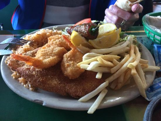 San Juan : second visit redfish and shrimp