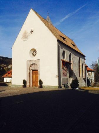 Renon, Italy: la chiesa  di s. Maria Assunta a Longomoso