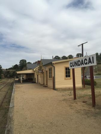 Gundagai, Australien: Great little station