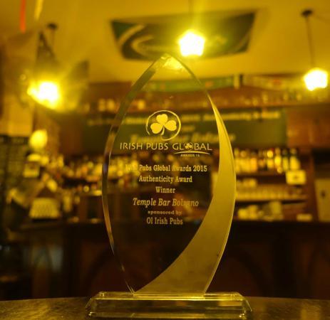 Temple Bar. Most Authentic Irish Pub 2015
