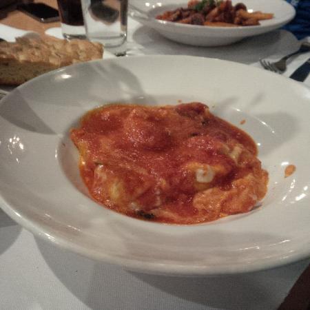 Cimo Mediterranean Grill: 4 cheese ravioli