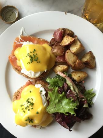 La Bergamote Pastries: Eggs Baltic
