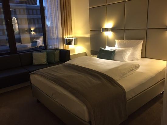 Lindner Congress Hotel Frankfurt: comfy bed