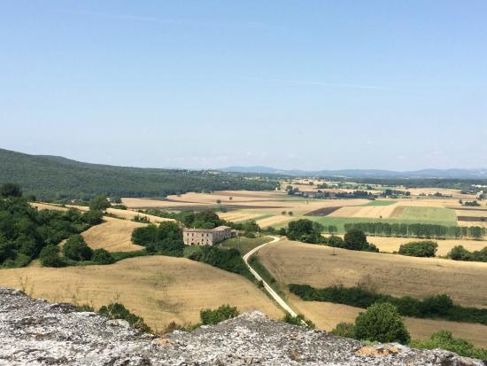 Fattoria Castello di Monteriggioni: Vista da Forteza