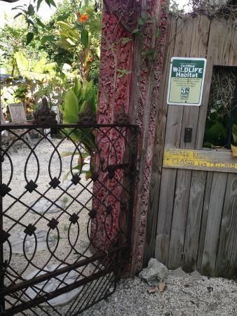 Deer Run Bed & Breakfast: Garden Entrance
