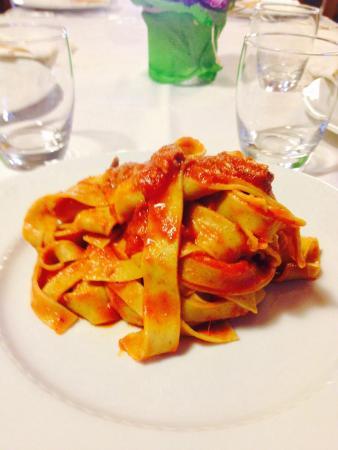 Ristorante Villa Clesia: Pappardelle al sugo di papera