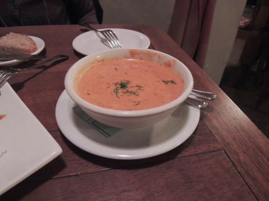 Robin's Restaurant: Salmon Bisque