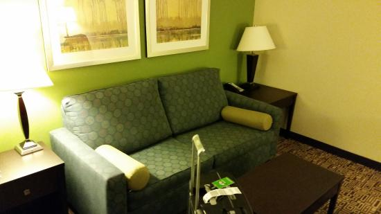 Holiday Inn Express Hotel & Suites Richfield: couch