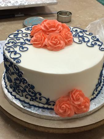 Birthday cake Cute and girly Picture of Virginias Cakes and