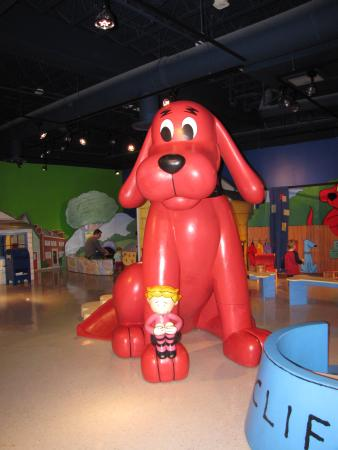 Children's Museum of Virginia: Clifford the Dog