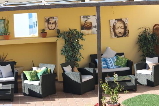 Hotel Soul Surfer: sala de descanso, lectura, relax