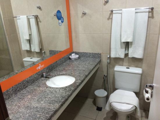 Citi Hotel Residence: Banheiro