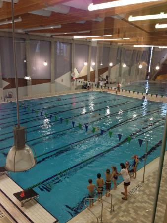 Elevation Place 8 Lane 25 Meter Lap Pool