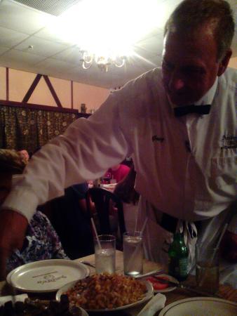 Andre's Steak House: Greg our server