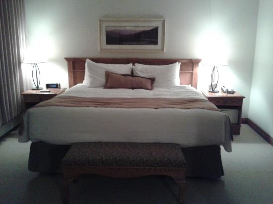 Best Western Jasper Inn & Suites: Our bedroom...