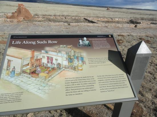 Fort Union National Monument: 'Suds Row' at Fort Union