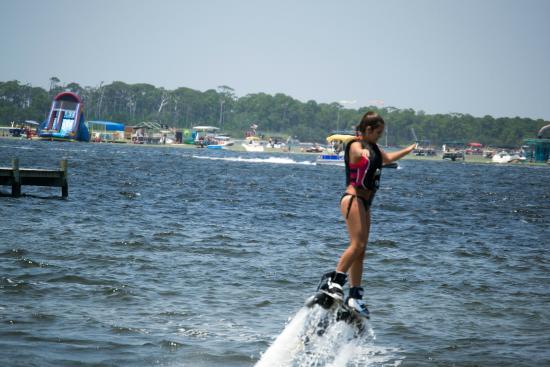Power Up Watersports: Try the new Hydroflight sport, Flyboarding!