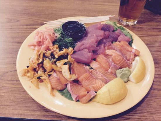 Pier 46 Seafood Market & Restaurant: P 46 templeton sashimi- Yum