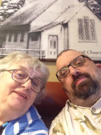 Home Restaurant: my mum and myself