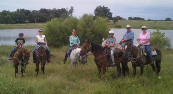 Sulphur, OK: 2014 June trail ride at Arbuckle Trail Rides