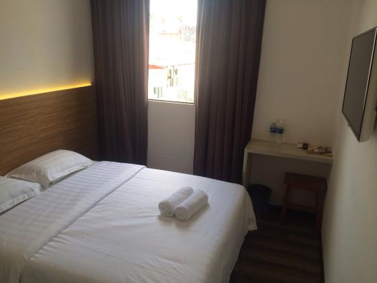 Kuching Place to Stay: The room