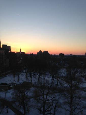 The Ritz-Carlton, Boston: Sunset over Boston