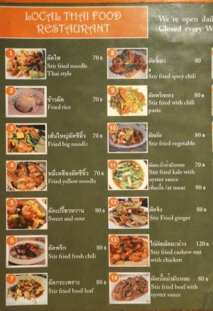 Local Thai Food Railay
