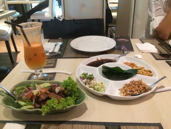 Chakri Palace, KLCC : Health food