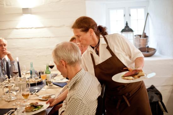 Nordre Ekre Gardshotell : Restauranten