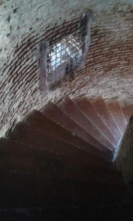 Bantay Bell Tower: entrance