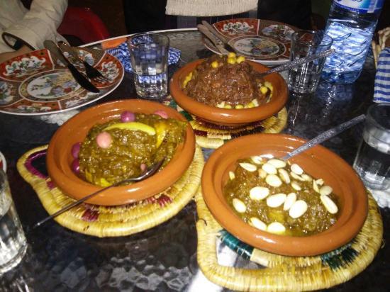 Cafe de la Noria: Cuscus, tajin...