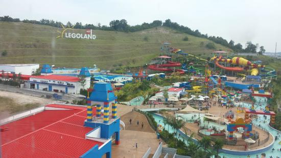 Waterpark view - Picture of Legoland Malaysia Resort ...