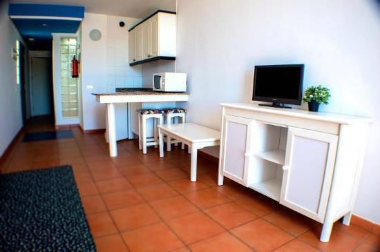 Isla Bonita Apartment Gran Canaria: Kitchen/living room
