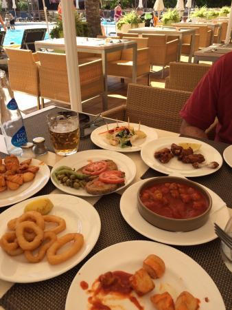 Viva Sunrise: Tapas selection