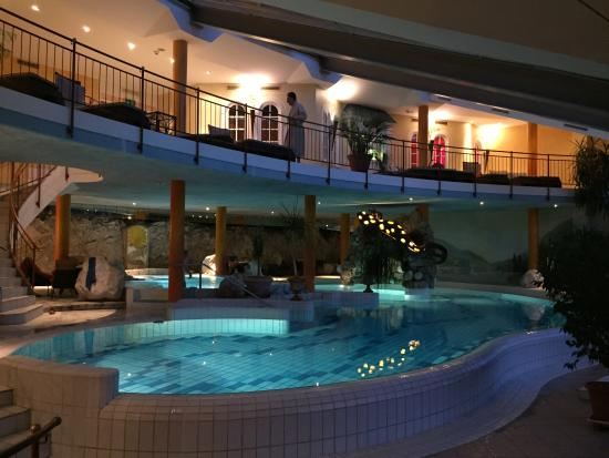 Hotel Ebners Waldhof Am See The Indoor Swimming Pool With Rapids And Cave