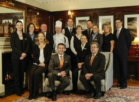 Ballygarry House Hotel & Spa: Our award winning team