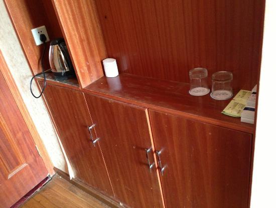 Jixuewotang Hotel: 房內櫃子