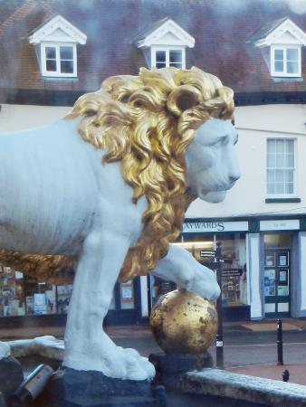 White Lion Hotel: The Lion!