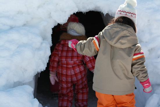 Syunsai no Sho Sakadojo: 雪遊び