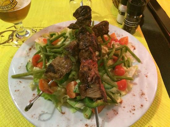 O Brochettes: Salade Grillade