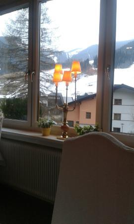 Hotel Prägant: Vista dalla sala da pranzo