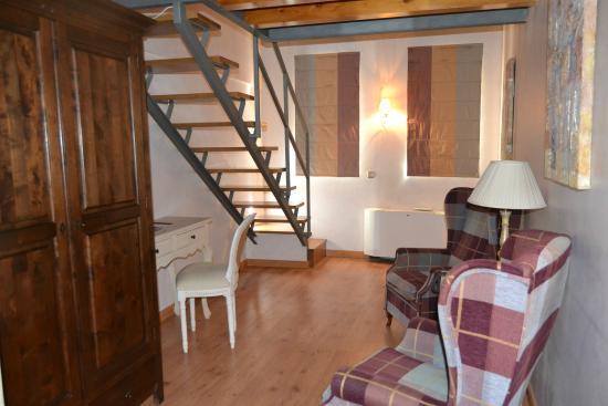 Condes de Visconti Hotel: Habitación Duplex del Hotel Condes de Visconti.