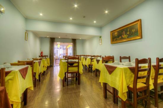 Dinya Lisbon Hotel: restaurante