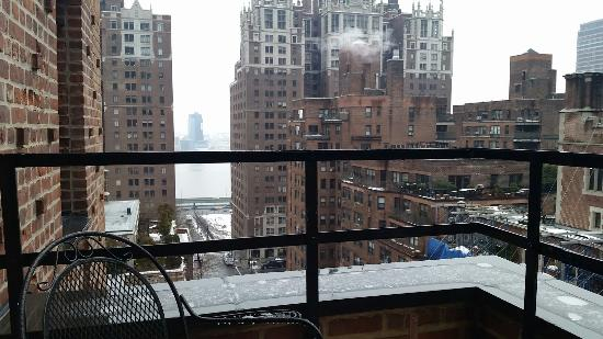 New York Balcony View Of Hilton New York Grand Central Updated 2017 Prices