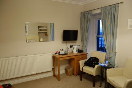 Ty Belgrave House: chambre