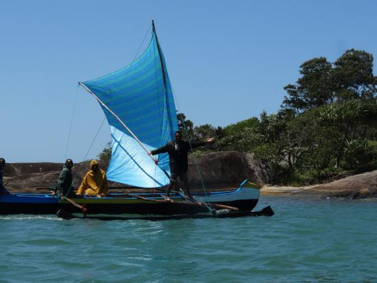 Fort Dauphin, Madagascar: A fishing boat