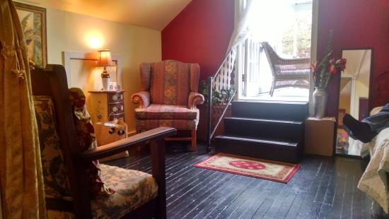 Penny Farthing Inn: our attic