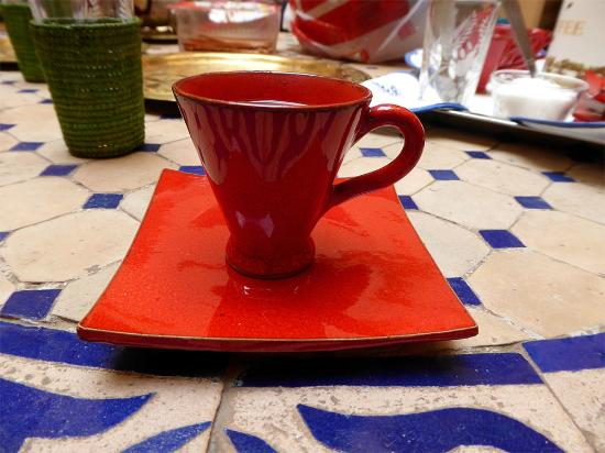 Dar Latifa : Lovely coffee cups