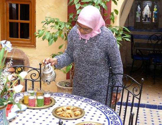 Dar Latifa : Enzha looked after us perfectly