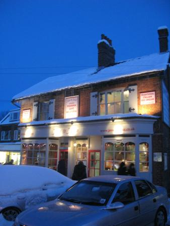 Forest Row, UK: Java in the snow!